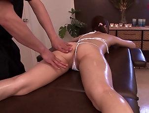 Couple,Hardcore,Asian,Japanese,Massage,Oiled,Close Up,Panties Rina Rukawa in panties fngered  while...