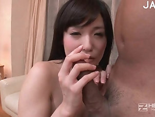Hardcore,Couple,Japanese,Asian,Natural Tits,Shaved Pussy,Licking,Brunettes,Long Hair Dick addict blonde gives her best...