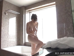 Amateur,Asian,Japanese,Natural Tits,Reality,Shower Michiru takes a shower demonstrating...