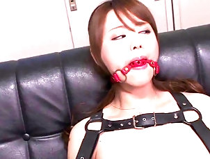 Couple,Hardcore,Asian,Japanese,Compilations An Asian bad girl has her hands and...