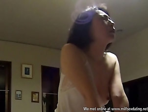 Asian,Japanese Sex with hot japanese wife in the...