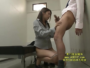 Asian,Japanese,Hardcore,Couple,HD,Natural Tits,Hairy,Blowjob,Pantyhose,Doggystyle,Fingering Japanese lady fuck in office