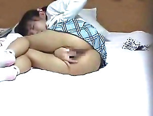 Japanese;Fingering;Teen,Fingering,Japanese,Teen,brunette,pig-tails,school-girl,sex-toy,skirt,solo-female,teens,tight,vibrator,young Little Sister Masturbating
