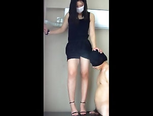femdom;femdom;handjob;feet;worship;giantess;feet;foot;slave;footjob;female-friendly;celeb,Amateur;For Women;Feet;Korean Chinese femdom-FD-1