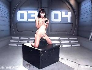 fuckingmachines;masturbate;kink;fetish;masturbation;asian;petite;dildo;orgasm;robot;machine;toys;vibrator;pussy;brunette;babe,Asian;Brunette;Fetish;Masturbation;Pornstar,marika hase Cute Asian Fucks Dildo Machines