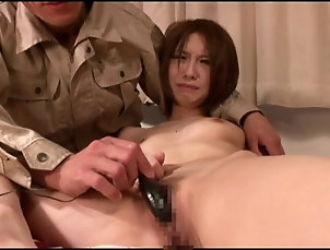 Couple,Hardcore,Asian,Japanese,Bra,Panties Sexually hungry hubby arrives home to...