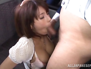 Reality,Asian,Japanese,Bus Mouthwatering Nami Hoshino Goes...