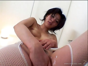 Japanese,Asian,Nice Ass,Pussy,Hairy,Pantyhose,Fishnet,POV,Hardcore,Shower,Teens Japanese cowgirl in pantyhose rubs...