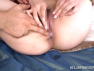 Asian,Japanese,Bra,Big Tits,Pantyhose,Nylon,Couple,Hardcore Sensual Japanese chick in sexy bra...