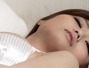Asian;Japanese;Lingerie;Masturbation;Stockings;Scenes;Solo;Jav HD Sweet Japanese babe, Nao, provides...