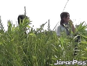 Asian;Public Nudity;Hidden Camera;Teen;Voyeur;HD Videos;Nudist;Pissing Japanese schoolgirls unleash their...