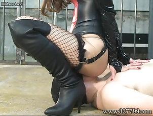 BDSM;Bondage;Face Sitting;Japanese;Slave;Face Slap;Femdom Slap;Japanese Femdom;Sitting;337799 Japanese femdom Takakura face sitting...