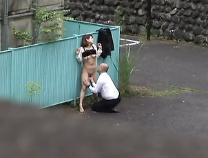 Asian,Japanese,Couple,Reality,Outdoor,Voyeur,Security Cam Japanese couple gets caught on a...