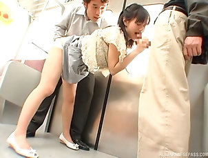 Threesome,Hardcore,MMF,Asian,Japanese,Reality,Public Dirty Asian babe with a hot ass...