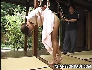 Asian,BDSM,Fetish,Slave,Bondage Asian girl in kimono tied up and bdsm...