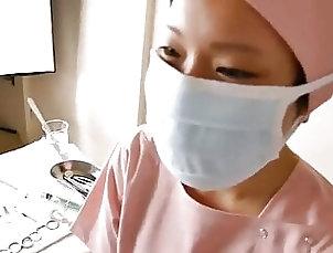 Asian;Brunette;Mature;POV;Latex;Nylon;Medical;Doctor;Nurse;Japan;Dental;Fetishes;Asian Solo;Nurse Fetish;Solo;Japanese Nurse;Nurse Solo;Dental Nurse Nurse Dental Fetish – Solo