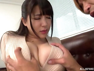 Couple,Japanese,Bra,Panties,Big Tits Sex from behind is the favorite sex...