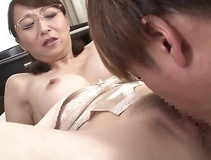Asian,Japanese,MILF,Cougars,Glasses,Fetish,Licking,Hairy,Doggystyle,Fake Tits,Blowjob,Hardcore,Couple Japanese lingerie