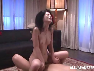 Threesome,Hardcore,MMF,Asian,Japanese,MILF,Skinny The red lingerie on this babe made...