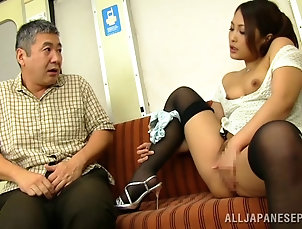 Reality,Couple,Hardcore,Asian,Japanese,Bus,Natural Tits,Stockings,Nylon,Public,Story Aoi Miyama fingering her pussy on a...