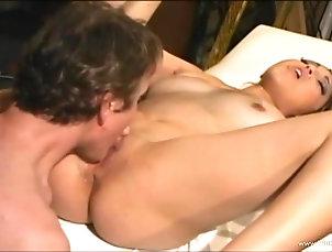 Asian,Natural Tits,Missionary,Pornstars,Couple,Hardcore,Orgasm,Long Hair Asian babe with natural tits gives...