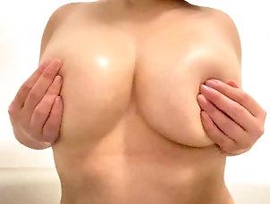 bath;massage;cute;sexy;big-tits;kink;big-boobs,Big Tits;Fetish;Japanese;Exclusive;Verified Amateurs;Solo Female お風呂でおっぱいマッサー�...