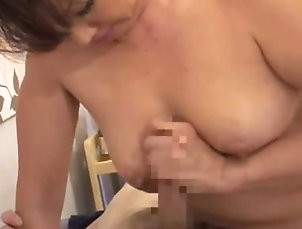 Hardcore,Cowgirl,Hairy,Brunettes,Japanese,Natural Tits,Couple,MILF Hot mature Japanese woman gives a...