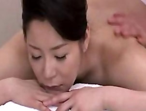 Massage,Asian,Japanese,Brunettes Sinful Asian MILF Gets The Wildest...