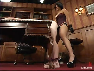 Femdom,Humiliation,Slave,Torture Horny Asian mistress Dragon Lily is...