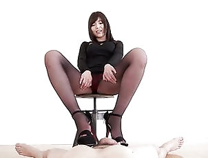 Asian;Japanese;Nylon;HD Videos;Footjob;Pantyhose;Japan;Pantyhose Footjob;Asian Footjob;Pantyhose Legs;Black Pantyhose;Black Footjob Legs of Japan – black...