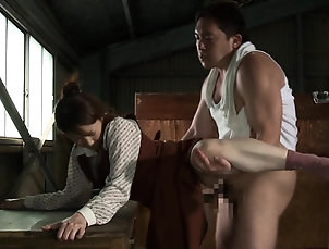 Couple,Japanese,MILF,Natural Tits Busty Japanese honey having her...