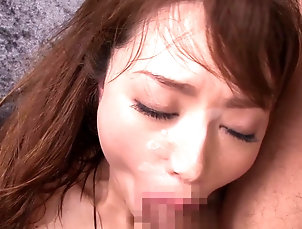 Couple,Hardcore,Asian,Japanese,Natural Tits,Long Hair,Cowgirl Looks like the curvaceous Akiho knows...