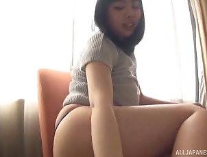 Couple,Hardcore,Asian,Japanese,Thong,Fingering,Natural Tits Cute Japanese babe blows him and...