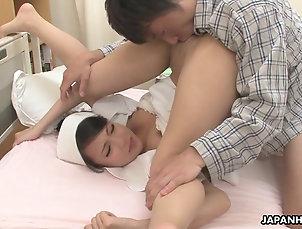 Japanese Smooth Asian nurse getting banged...