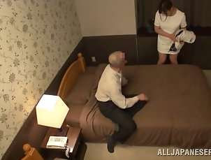 Asian,Couple,Japanese,Reality Bald Dude Wants a Massage and Ends Up...
