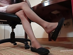 Asian;Stockings;Foot Fetish;Nylon;HD Videos;Shoeplay;Pantyhose;Pantyhose Shoeplay;Clips4Sale Lucy Pantyhose Shoeplay