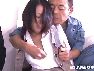 Couple,Hardcore,Asian,Japanese,Big Tits,Fingering,Fake Tits,MILF Asian Bastard Fingers And Fucks Asian...