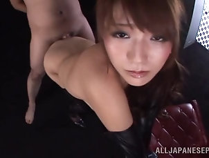 Couple,Hardcore,Licking,Amateur,Asian,Japanese Dazzling Japanese in Leather Boots...