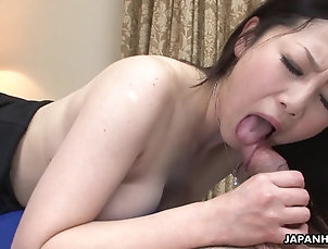 Couple,Hardcore,Japanese,Big Tits,Natural Tits,MILF Asian wife got her hairy pussy...