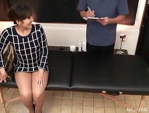 Couple,Japanese,Massage Beautiful babe gets her sexy body...