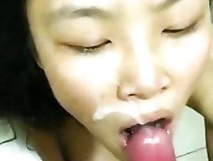 Amateur;Asian;Blowjob;Cumshot;Deep Throat;Finish;Humiliation;Asian Blowjob Cum;Pay Debt;Bj;Asian Blowjob;Asian Bj;Asian Cumshot;Debt;Paid;Asian Paid asian paying her debts with a BJ...