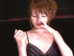 Asian,Babes,Brunettes,Handjob,Hardcore,Japanese,MMF,Threesome Naughty Asian Sucking and Jerking Off...